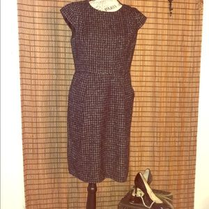 🍂ANN TAYLOR LOFT TWEED DRESS